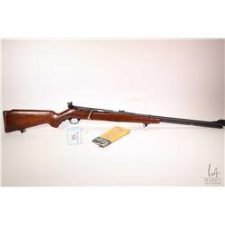 "Non-Restricted rifle Mossberg & Son model 346BA, .22 S, L, LR bolt action, w/ bbl length 24"" [Blued"