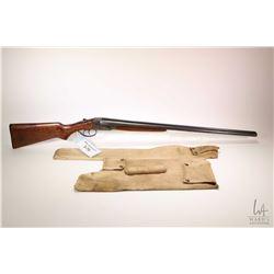 """Non-Restricted shotgun Stevens model 5100, 20 gauge 2 3/4"""" two shot hinge break, w/ bbl length 28"""" ["""