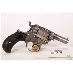 Antique handgun Colt model 1877 Thunderer, .41 LC six shot double action revolver, w/ bbl length 64m