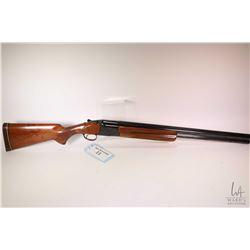 """Non-Restricted shotgun Browning model Citori, 12 gauge 2 3/4"""" & 3"""" two shot hinge break, w/ bbl leng"""