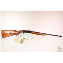 "Non-Restricted rifle FN Browning model B Take-Down, .22 LR semi automatic, w/ bbl length 19"" [Blued"