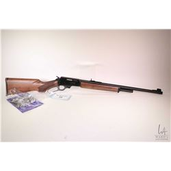 "Non-Restricted rifle Marlin model 1895, 45/70 Govt lever action, w/ bbl length 22"" [Blue round barre"