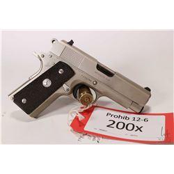 Prohib 12-6 handgun Colt model Officers MK IV series 80, .45 ACP six shot semi automatic, w/ bbl len