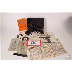 Prohib 12-6 handgun Colt model 1903 Pocket Hammerless, .32 auto eight shot semi automatic, w/ bbl le