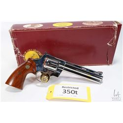Restricted handgun Colt model Python Double Diamond 150, 357 Mag six shot double action revolver, w/
