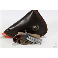 Prohib 12-6 handgun North American Arms Co. model NAA22MS, .22 LR five shot single action revolver,
