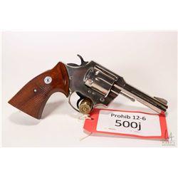Prohib 12-6 handgun Colt model Lawman MK III, .357 Magnum six shot double action revolver, w/ bbl le