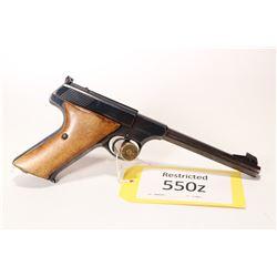 Restricted handgun Colt model Woodsman, .22 LR ten shot semi automatic, w/ bbl length 152mm [Blued f