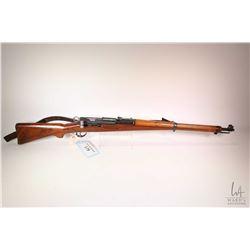 "Non-Restricted rifle Schmidt Rubin model K31, 7.5 X 55mm Swiss bolt action, w/ bbl length 25"" [Blued"