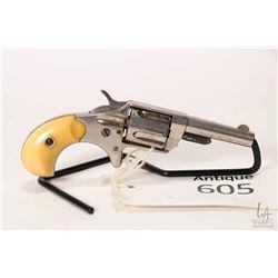 Antique handgun Colt model New Line, .30 Long Rimfire five shot single action revolver, w/ bbl lengt