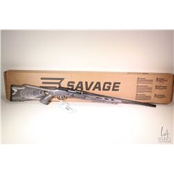 """Non-Restricted rifle Savage model A17, .17 HMR semi automatic, w/ bbl length 22"""" [Ribbed black barre"""