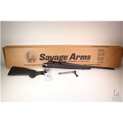 """Non-Restricted rifle Savage model Axis, .22-250 Rem bolt action, w/ bbl length 22"""" [Satin black barr"""