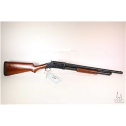 "Non-Restricted shotgun Jainshe model 87 (copy), 12 gauge 3"" pump action, w/ bbl length 20"" [Blued ba"