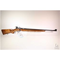 "Non-Restricted rifle Tula model T03-12, .22 LR single shot bolt action, w/ bbl length 25"" [Blued bar"
