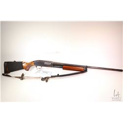 "Non-Restricted shotgun J. C. Higgins model 20, 12 gauge 2 3/4"" pump action, w/ bbl length 28"" [Blued"