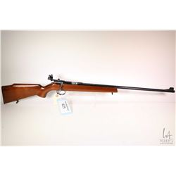 Non-Restricted rifle Anschutz (CIL) model 180, .22 S, L & LR single shot bolt action, w/ bbl length