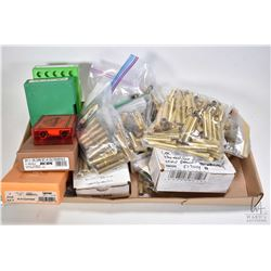 Large selection of large caliber bullets including two 50 count boxes of Hornady .45 cal 350 grain b