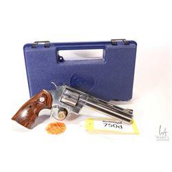 Restricted handgun Colt model Python Elite, .357 Magnum six shot double action revolver, w/ bbl leng