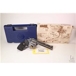 Restricted handgun Colt model Grizzly, .357 Magnum six shot double action revolver, w/ bbl length 15