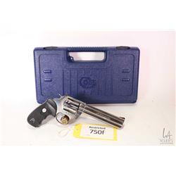 Restricted handgun Colt model King Cobra, .357 Magnum six shot double action revolver, w/ bbl length