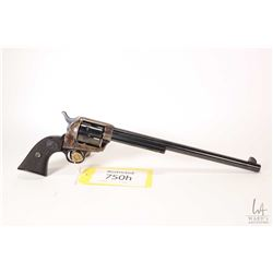 Restricted handgun Colt model Buntline Special, .45 Long Colt six shot single action revolver, w/ bb