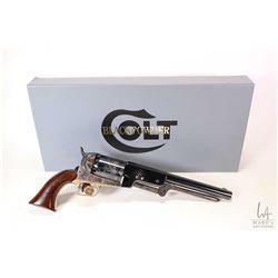 Restricted handgun Colt model 1847 Walker Gen. 2, .44 Percussion six shot single action revolver, w/