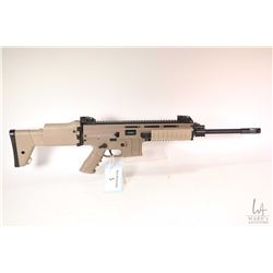 "Non-Restricted rifle ISSC model MK 22, .22 LR semi automatic, w/ bbl length 16"" [Black and tan two t"