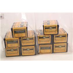 Ten boxes of 50 count Speer Bullet .45 cal plastic bullets