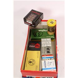 Selection of 9mm ammunition including a 50 count box of Union Metallic cartridges 115 grain, four 25
