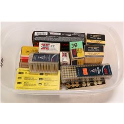 Selection of ammunition including 50 count box of Winchester SXZ .45 auto 230 grain, two 50 count bo