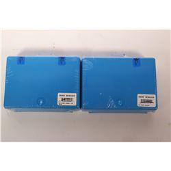 Two Dillon Precision conversion kits including SD Conv 10mm / 40 S&W no. 20469 and SD Conv 38/357 no