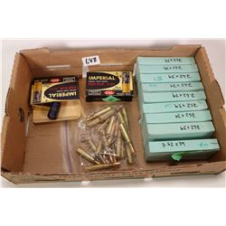 Eight 20 count boxes of 7.62X39 ammo. plus a 10 count box of 7.62X39 ammo. bag with 19 round of 7.62