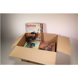 Box of approximately 100 Handloader and Rifle magazines dating 1976-1994