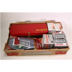 """One 25 count box of Winchester Heavy Game Loads 12 gauge, 2 3/4"""" no. 6 shotgun shells, an 18 count b"""