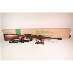 "Non-Restricted rifle Mossberg model 802 Splinkster, .22 LR bolt action, w/ bbl length 18"" [Blued bar"