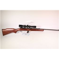 "Non-Restricted rifle Cooey model 64B, .22 LR ten shot semi automatic, w/ bbl length 20"" [Blued barre"
