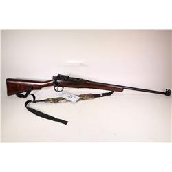 Non-Restricted rifle Lee Enfield model Sporterized, .303 Brit ten shot bolt action, w/ bbl length 23