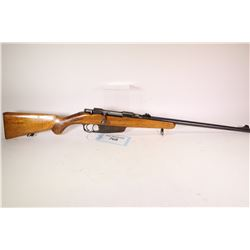 """Non-Restricted rifle Carcano model M91, 6.5mm bolt action, w/ bbl length 20"""" [Blued barrel and recei"""