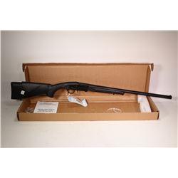 """Non-Restricted shotgun Midland model Backpack, 12 gauge 3"""" single shot hinge break, w/ bbl length 24"""