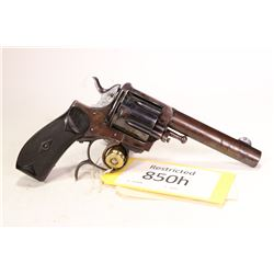 Restricted handgun Unknown model Frontier Bulldog, .44-40 Win six shot double action revolver, w/ bb