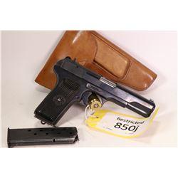 Restricted handgun Tokarev model TT33, 7.62mm Tokarev eight shot semi automatic, w/ bbl length 115mm