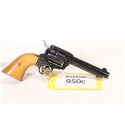 Restricted handgun Herbert & Schmidt model 21, .22 LR six shot single action revolver, w/ bbl length