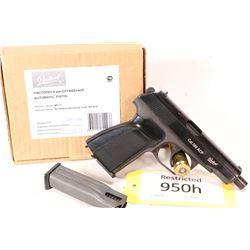 Restricted handgun Bakal model MP-71, .308 ACP semi automatic, w/ bbl length 106mm [Polished blue sl