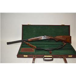 "Non-Restricted shotgun/rifle Sauer & Sohn model BBF 54 Deluxe, 16ga 2 3/4"" 30-06 Sprg hinge break, w"