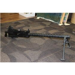 Dewatt Browning M-1919 A4 heavy machine gun, comprised of a combination and original dewatted parts