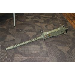 Faux Browning M-2 display machine gun made up from a combination of original parts and mostly non-or