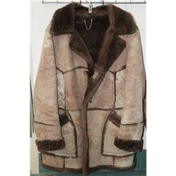 "Sears Men'swear Store ""Sheep Skin"" style jacket, probably size large"