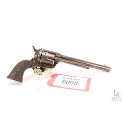 Prohib 12-6 handgun Colt model 1873, .32 WCF (.32-30) six shot single action revolver, w/ bbl length