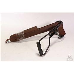 UPDATED DESCRIPTION, M1 30 carbine.... it is a folding paratrooper stock