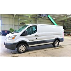 2015 Ford Transit 250 Cargo Van, 67848 Miles, Lic. 972HDX (Runs, Drives, See Video)